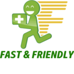 Fast and Friendly (Open Late)